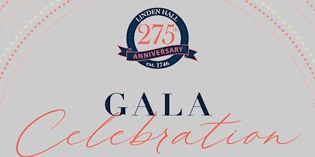 Linden Hall 275th Anniversary Gala tickets