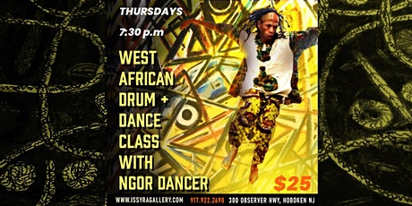 West African Drum and Dance class tickets