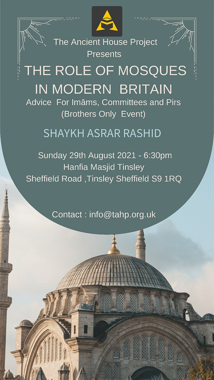 THE ROLE OF MOSQUES IN MODERN BRITAIN (ADVICE FOR IMAMS COMMITTEES & PEERS) image
