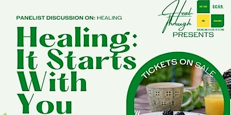 Healing: It Starts With You tickets