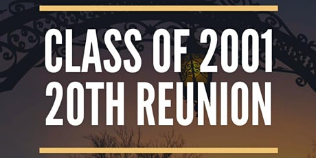 20 Year Reunion tickets