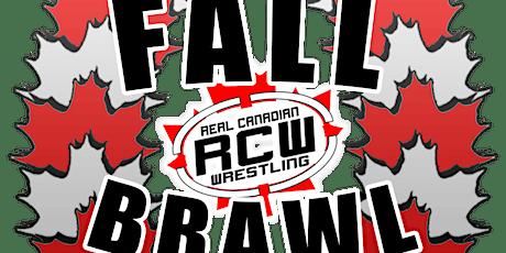 RCW FALL BRAWL tickets