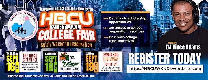 2021 HBCU Virtual College Fair image