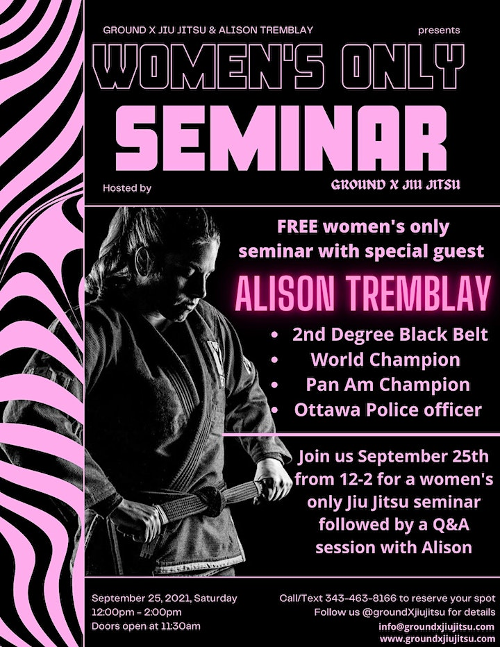 FREE WOMENS ONLY SEMINAR image