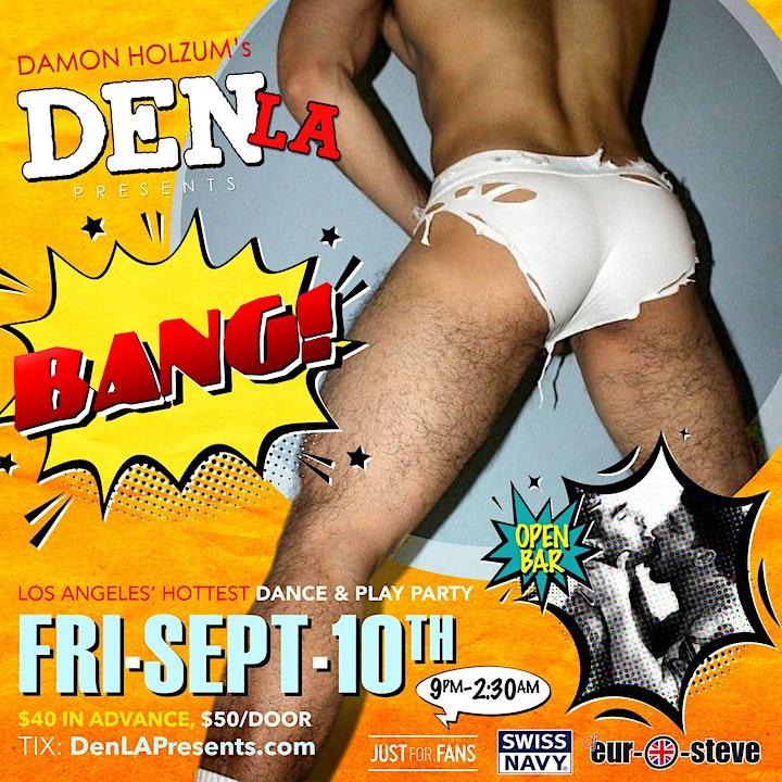 DenLA Presents: BANG! image