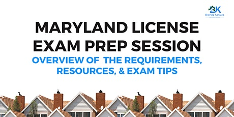 Exam Prep: Pass the Maryland Real Estate License Exam tickets