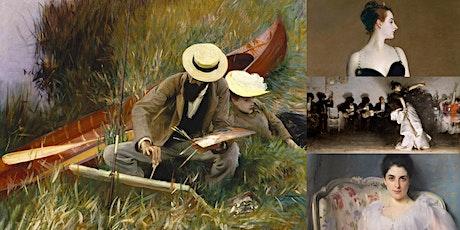'Ex-Pat Artists Rock the Modern Art World: John Singer Sargent' Webinar tickets