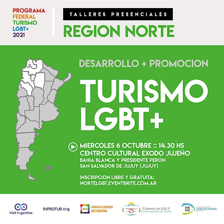 Imagen de NORTE :: PROGRAMA FEDERAL TURISMO LGBT+ (evento presencial)