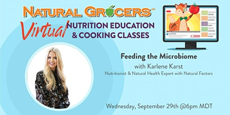 Feeding the Microbiome tickets