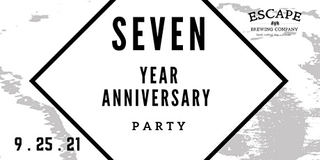 Escape Brewing Company // 7 Year Anniversary Beerfest tickets