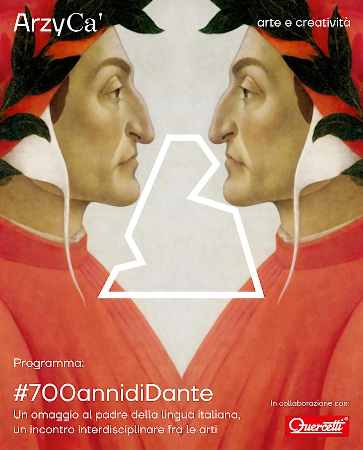 """Immagine #700annidiDante. Workshop: Realizzazione Eco-Mosaico """"Dante a Treviso"""""""