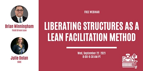 Liberating Structures as a Lean Facilitation Method tickets