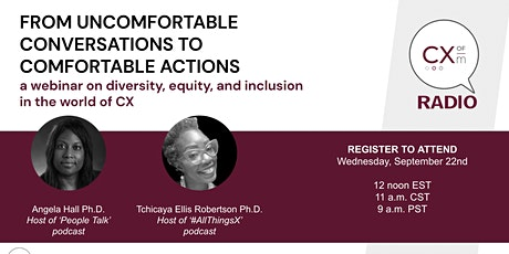 DEI: From Uncomfortable Conversations to Comfortable Solutions tickets