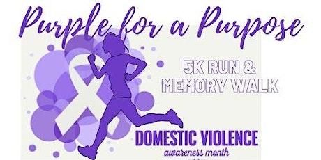 Purple For a Purpose 5K Run/Walk tickets