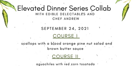 Elevated Dinner Series Collab tickets
