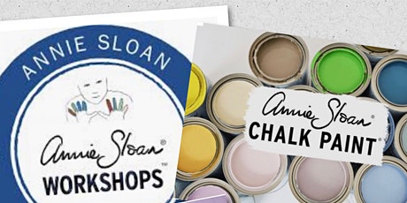 Learn to Upcycle Furniture using Annie Sloan Chalk paint tickets