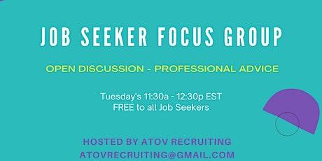 Job Seeker Focus Group tickets