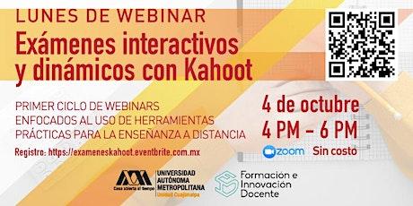 Exámenes interactivos y dinámicos con Kahoot entradas
