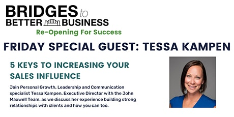 SPECIAL EVENT: 5 KEYS TO INCREASING YOUR SALES INFLUENCE tickets