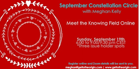September Constellation Circle with Meghan Kelly tickets