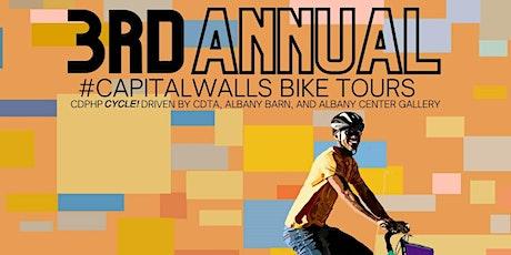 3rd Annual Capital Walls Mural Bike Tour  9/19/21 tickets