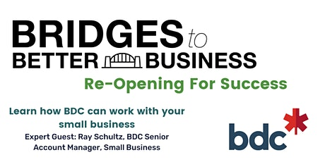 Financing your Start-Up with BDC. tickets