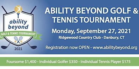 Ability Beyond Golf & Tennis Tournament tickets