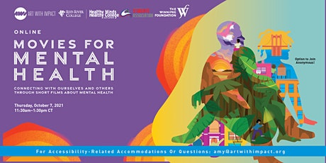 Red River College presents: Movies for Mental Health (Online) tickets