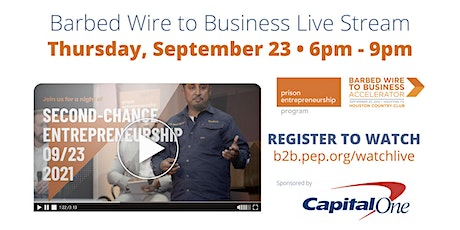 PEP 2021 Barbed Wire to Business Live Stream tickets