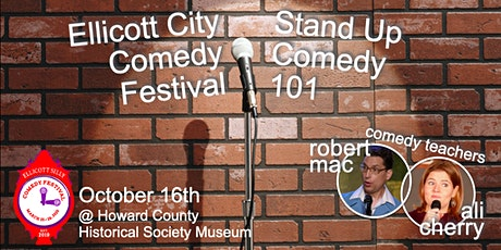 Ellicott Silly Comedy Festival presents Stand Up Comedy 101 Class tickets