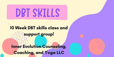 DBT skills class and support group tickets