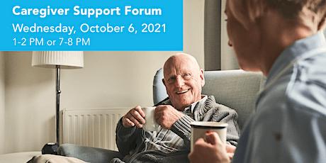 Caregiver Support Forum tickets