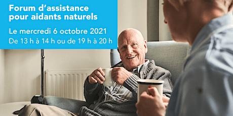 Forum d'assistance pour aidants naturels billets
