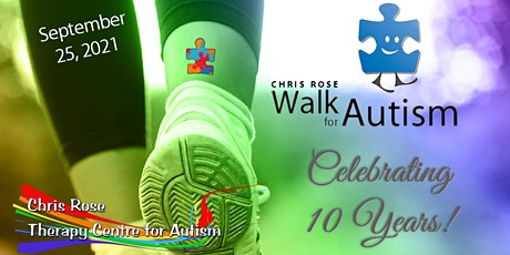 10th Annual Chris Rose Walk for Autism tickets