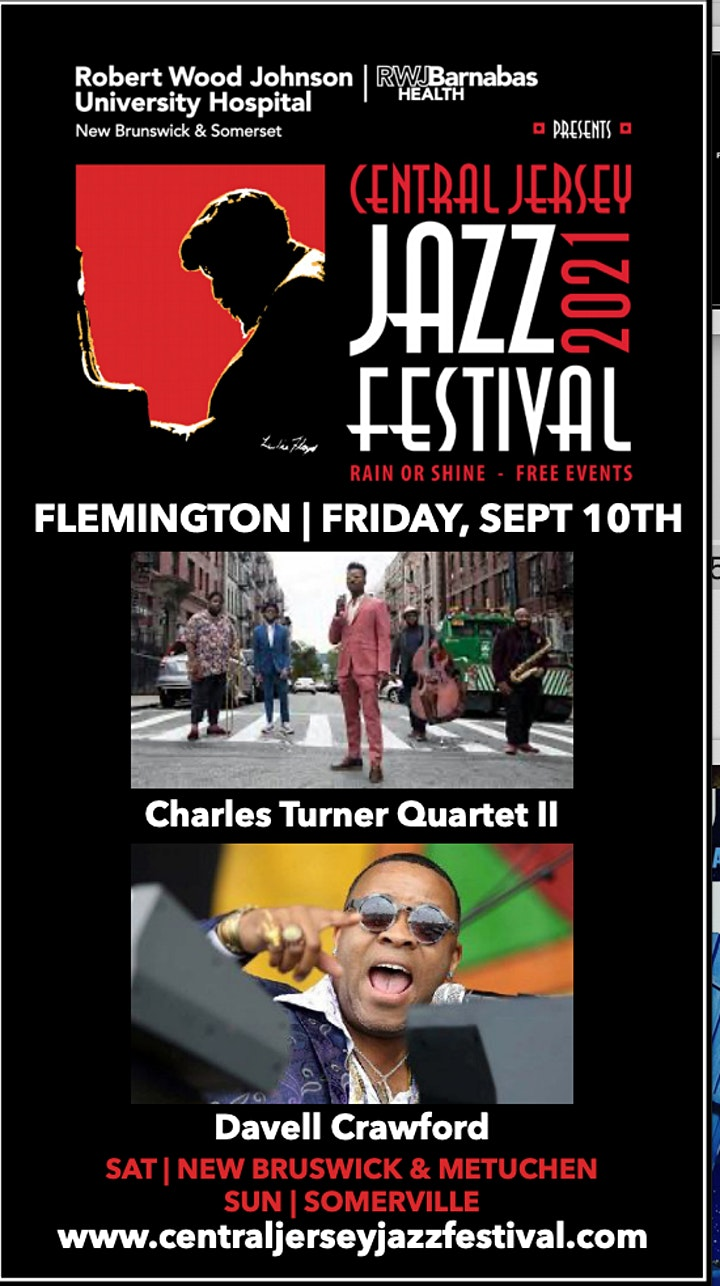 Central Jersey Jazz Festival LIVE 2021 -- Friday Night in Flemington image
