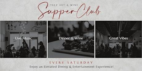 Trez Art and Wine Bar Supper Club Concert Series tickets