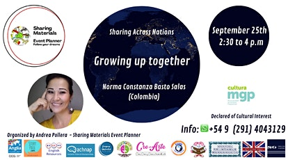 """Sharing Across Nations """"Growing up together!"""" tickets"""