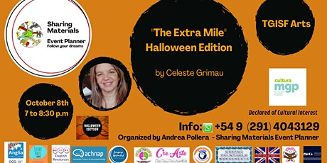 """TGISF  Arts """"The Extra Mile Halloween Edition"""" by Celeste Grimau tickets"""