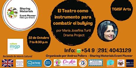 """TGISF  Arts """"El Teatro como instrumento para combatir el bullying"""" entradas"""