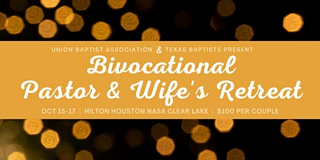 Bivocational Pastor and Wife Retreat tickets