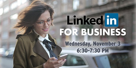Virtual: LinkedIn for Business tickets