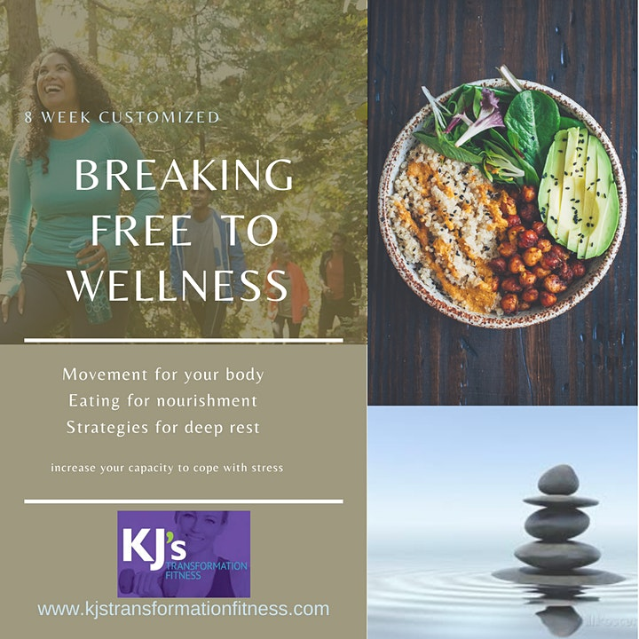 Breaking Free  to Wellness 8 wks In Person image