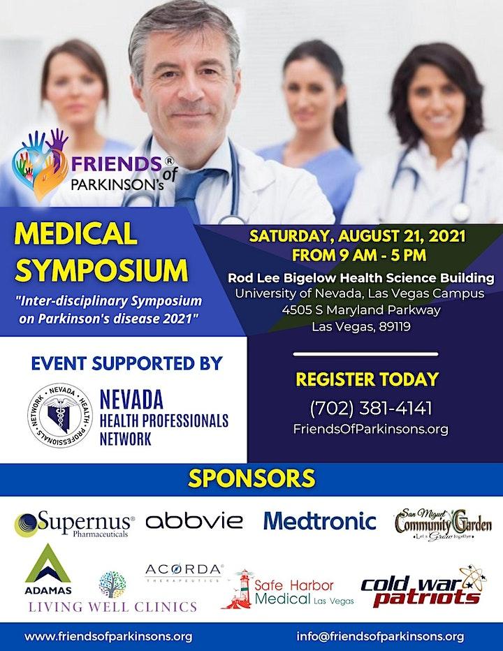 Medical Symposium: Inter-disciplinary Symposium on Parkinson's Disease 2021 image