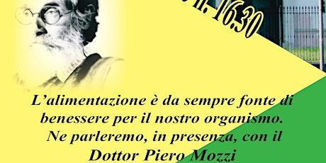 Incontro con il dottor Piero Mozzi biglietti