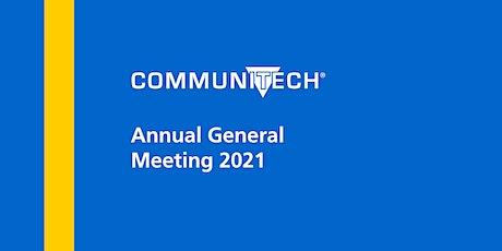 Communitech Annual General Meeting 2021 tickets