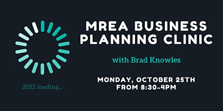 MREA Business Planning Clinic with Brad Knowles tickets