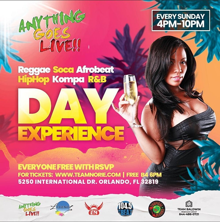Anything Goes Day Party in Orlando #ANYYHINGGOESLIVE image