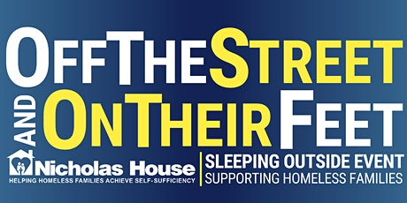 2021 Off The Streets, On Their Feet Sleeping Outside Event tickets