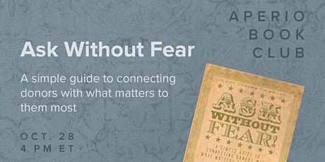 Aperio Book Club · Ask Without Fear tickets