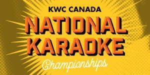 2015 KWC Canada National Karaoke Championships Ontario...